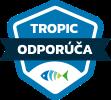 Nálepka Tropic odporúča